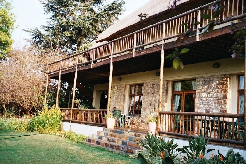 Ein Hotel in der Vorstadt von Johannesburg
