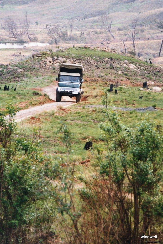 Von Umsloti zu den Drakensbergen