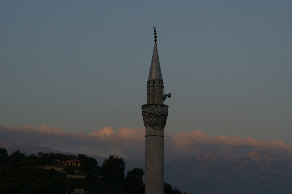 Minarett in Berat, Albanien
