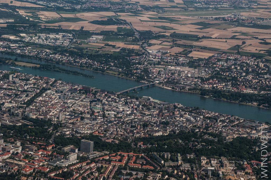 Rückflug nach Frankfurt