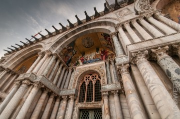 Mosaike an der Basilika San Marco