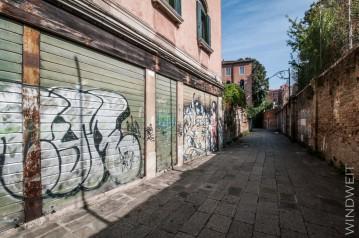 Grafitti gibt's auch in Venedig