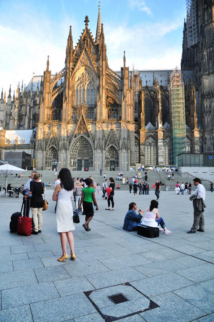 Zwischenstop in Köln